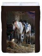 Sad Horse Duvet Cover
