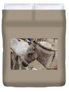 Sad Wild Donkey Duvet Cover