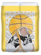 Saddle Oxfords And Basketball Duvet Cover