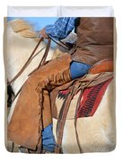 Saddle Up I Duvet Cover