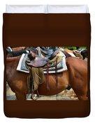 Saddle Up Partner Duvet Cover