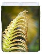 Sadleria Cyatheoides Amau Fern Maui Hawaii Duvet Cover