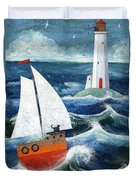 Safe Passage Duvet Cover by Peter Adderley