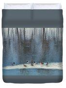 Safehaven   Indiana   Winter Duvet Cover
