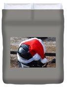 Safety First Santa Duvet Cover