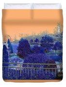 Sagamihara Asamizo Park 16g Duvet Cover