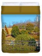 Sagamihara Asamizo Park 16h Duvet Cover