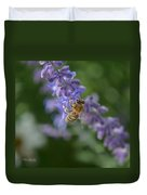Sage Bee Duvet Cover