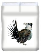 Sage Grouse  Duvet Cover by Anonymous