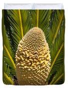 Sago Palm Seed Pod Duvet Cover