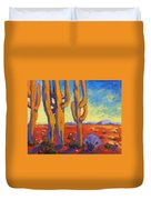 Desert Keepers Duvet Cover