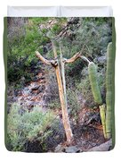 Saguaro Skeleton Duvet Cover