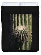 Saguaro With New Arm Duvet Cover