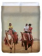 Saharan Culture  Duvet Cover