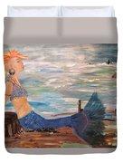 Sahbreena Punk Mermaid Duvet Cover