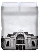 Saigon Opera House Duvet Cover