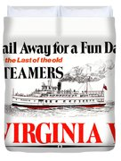 Sail Away For A Fun Day Duvet Cover