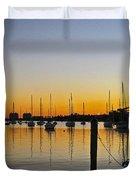 Sailboat Bay Duvet Cover