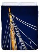 Sailboat Lines Duvet Cover
