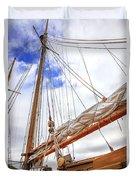 Sailboat Rigging Duvet Cover