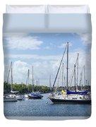 Sailboat Series 05 Duvet Cover