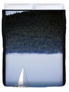 Sailboat Tranquility Duvet Cover