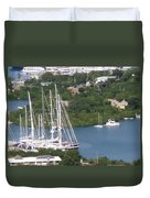 Sailboats Duvet Cover