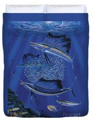 Sailfish Round Up Off0060 Duvet Cover