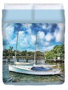 Sailboat Series 01 Duvet Cover