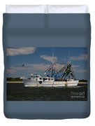 Sailing Along Duvet Cover