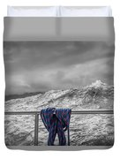 Sailing Around South West Cape Of Tasmania Duvet Cover