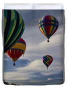 Sailing At First Light Duvet Cover
