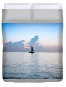 Sailing Daybreak Duvet Cover