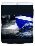 Sailing In Blue Duvet Cover