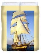 Sailing Ship Carribean Duvet Cover