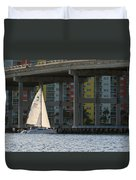 Sailing The Intracoastal Duvet Cover