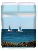 Sailing Watch Hill Ri Duvet Cover