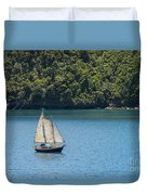 Sails In The Wind Duvet Cover