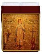 Saint Agnes Duvet Cover