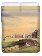 Saint Andrews Golf Course Scotland - 18th Hole Duvet Cover