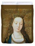 Saint Catherine Duvet Cover