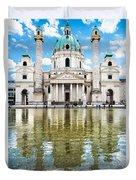 Saint Charles's Church  Duvet Cover