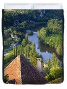Saint Cirq Lapopie Duvet Cover