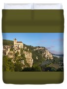 Saint Cirq Panoramic Duvet Cover