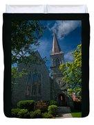 Saint James Episcopal Church Duvet Cover