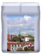 Saint John New Brunswick Duvet Cover