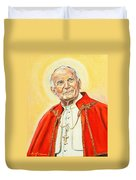 Saint John Paul II Duvet Cover