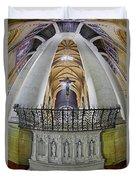 Saint John The Divine Rear Altar View Duvet Cover