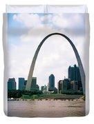 Saint Louis Arch Duvet Cover