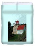 Saint Martin's Lighthouse 2 Duvet Cover